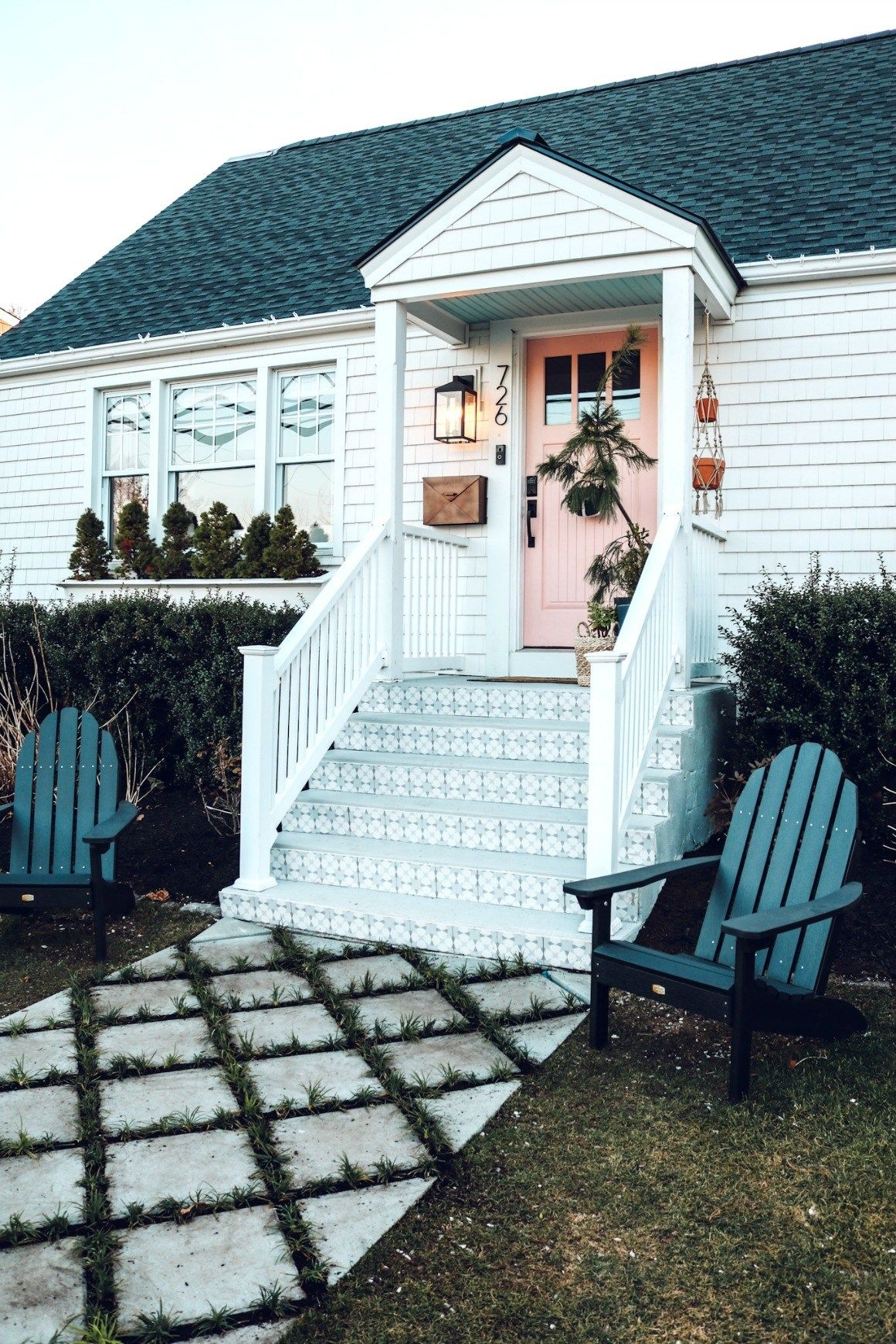 20 Diy Front Step Ideas Creative Ideas For Front Entry Steps | Steps For Mobile Homes Outdoor | Plastic | Small | Steel | Portable | Pressure Treated