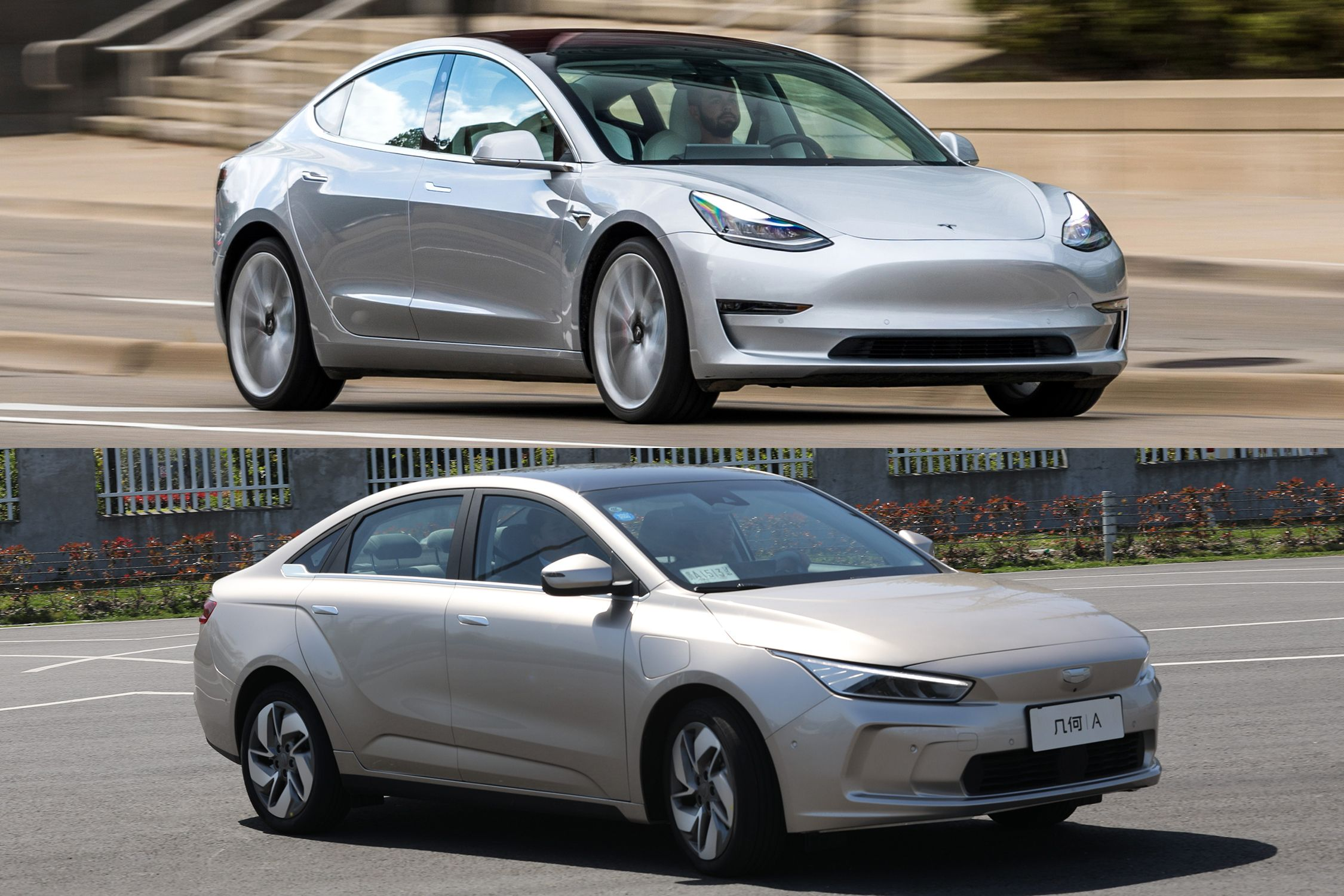 Geely Geometry A New Chinese Ev Vs The Tesla Model 3 Comparison Of Specs