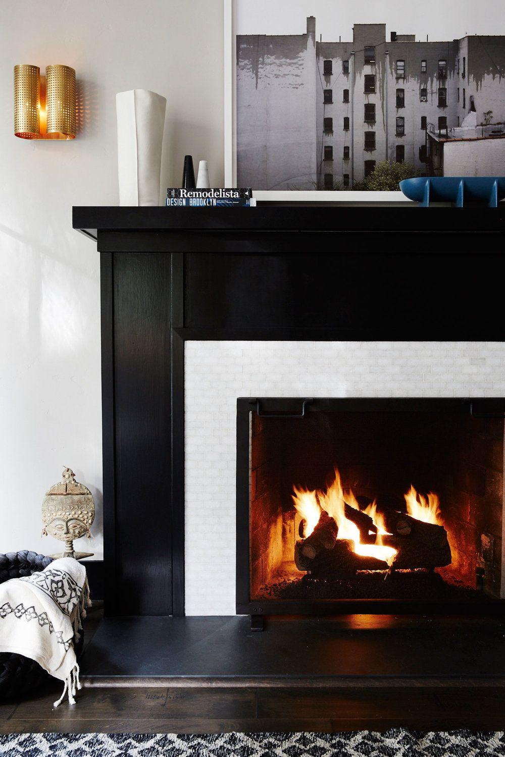 10 Chic Fireplace Tile Ideas Tile Designs For Your