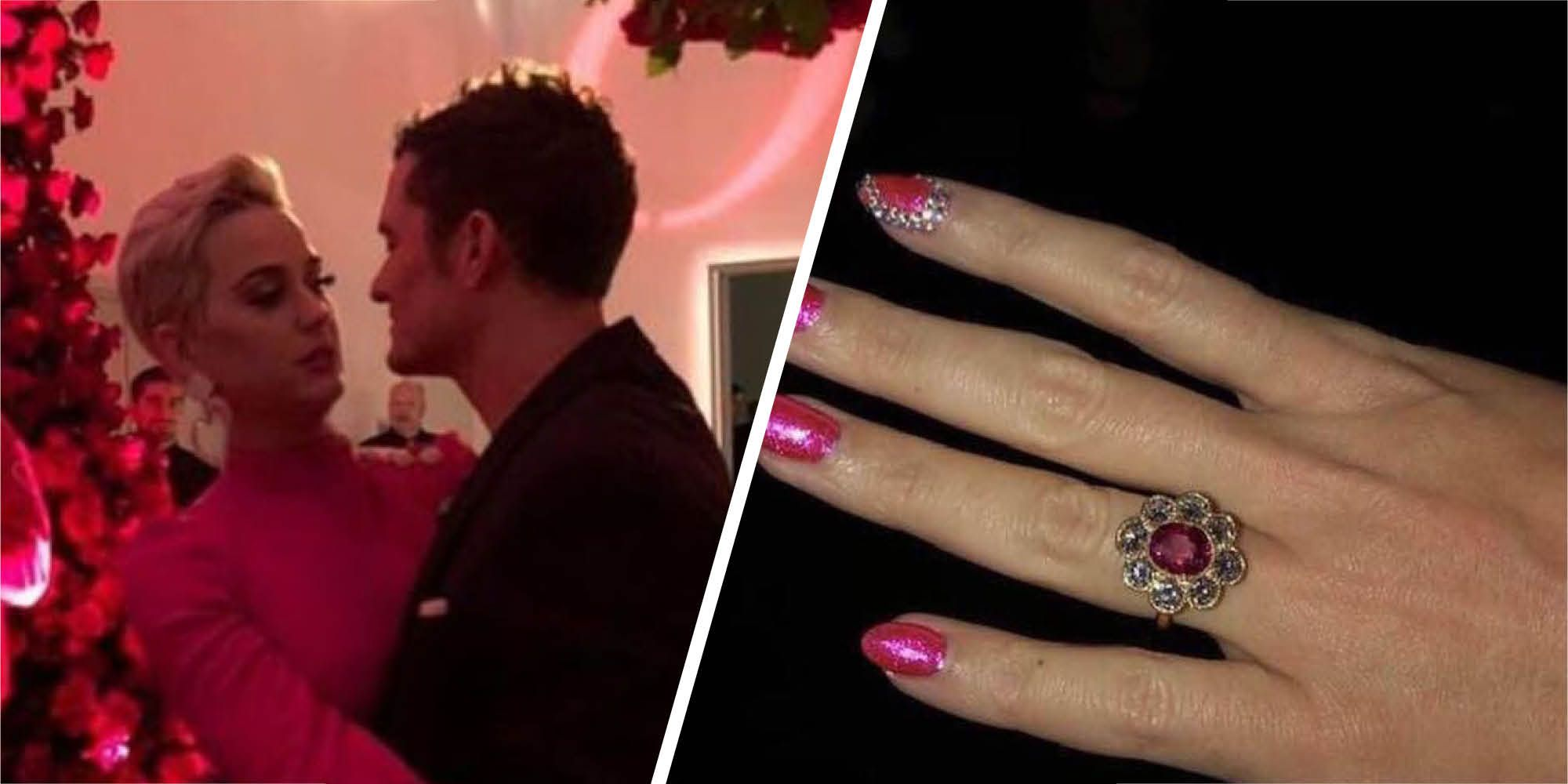 Katy Perry and Orlando Bloom are engaged by the looks of it