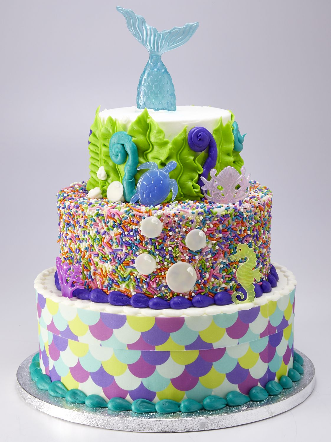You Can Get A 3 Tier Mermaid Cake At Sam s Club For Less Than  70 Sam s Club