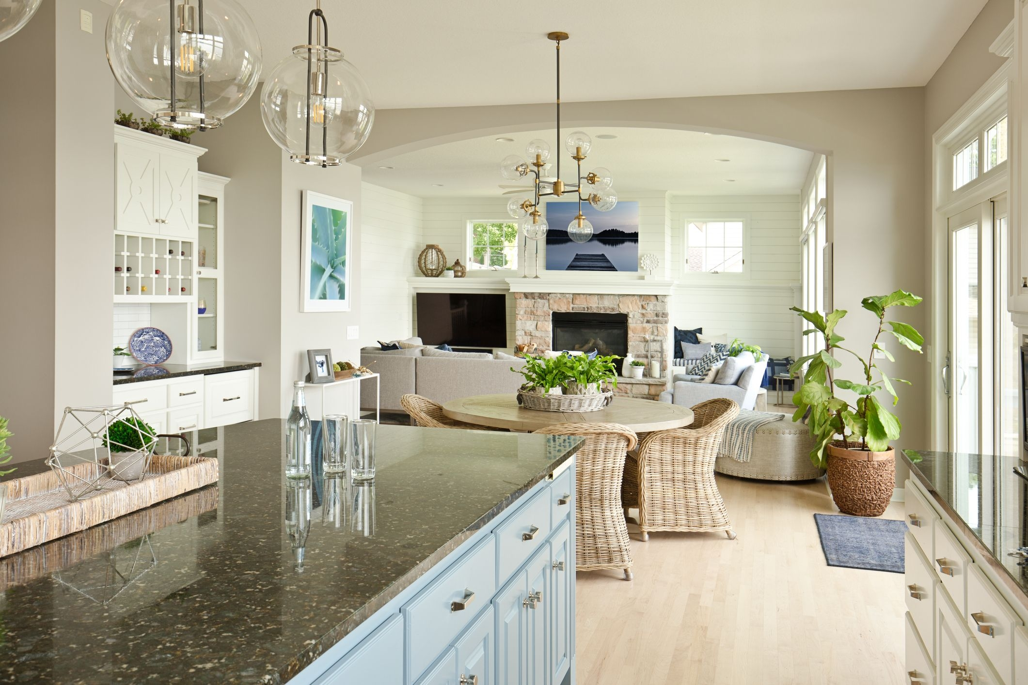 Please Stop With The Open Floor Plans | House Plans With Stairs In Kitchen | Luxury | Separate Kitchen | Compact Home | 2 Bedroom Townhome | Central Courtyard House