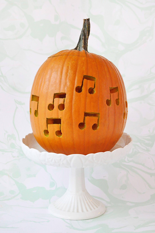 Fortnite Pumpkin Template