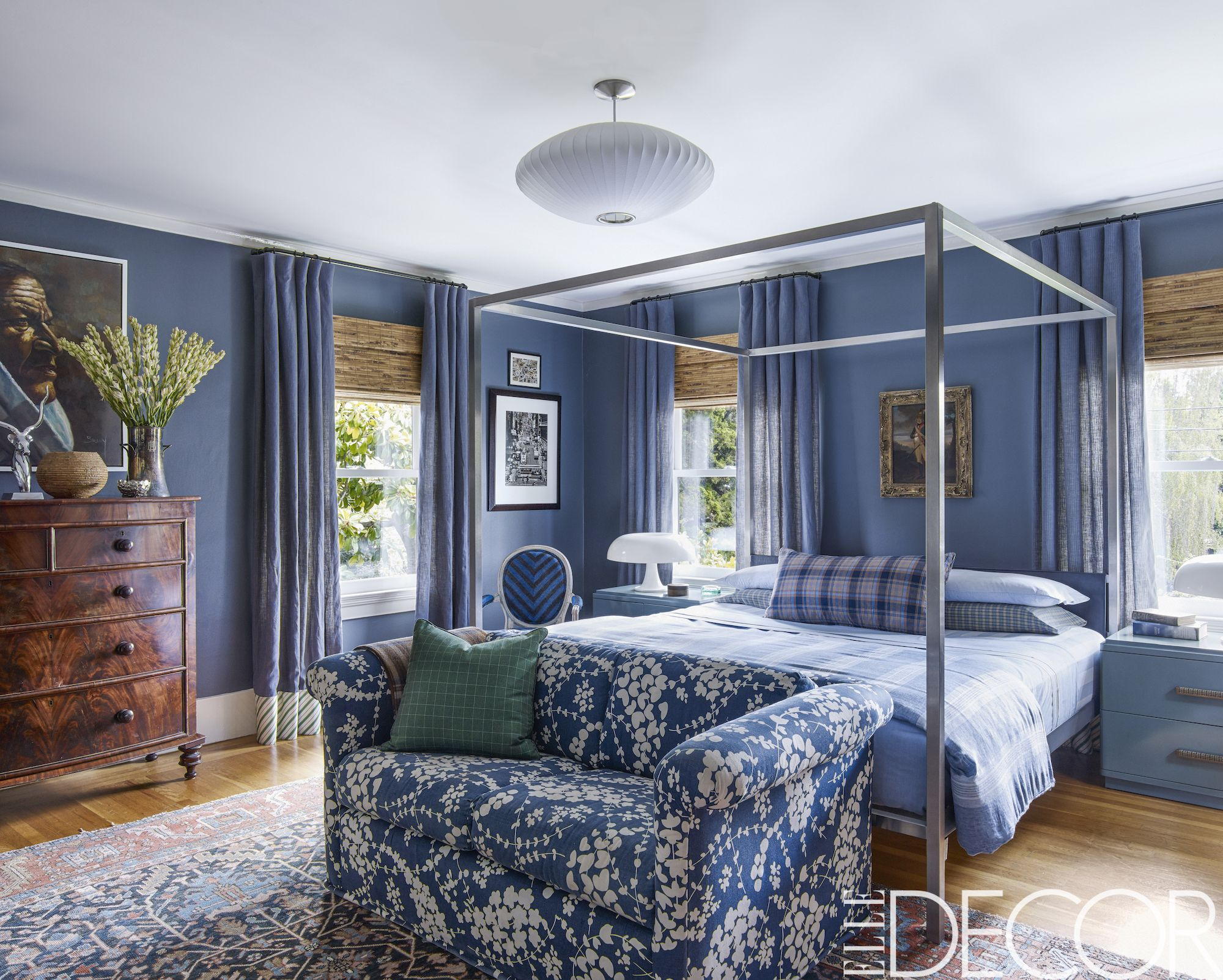 50 Blue Room Decorating Ideas How To Use Blue Wall Paint