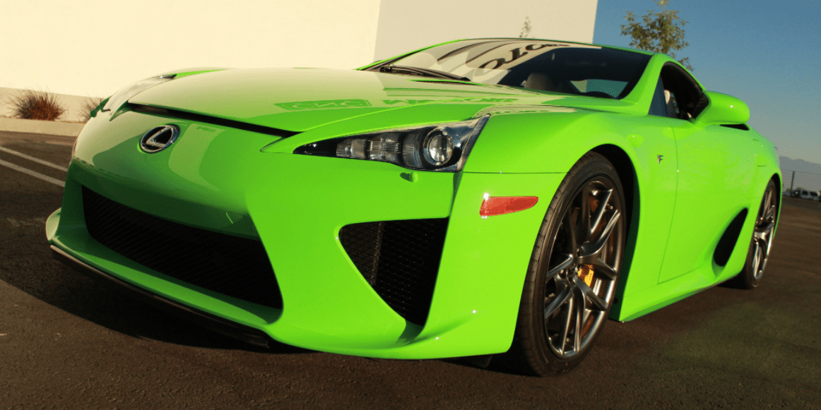 Green Lexus Lfa For Sale For 700 000 Rare Green Colored