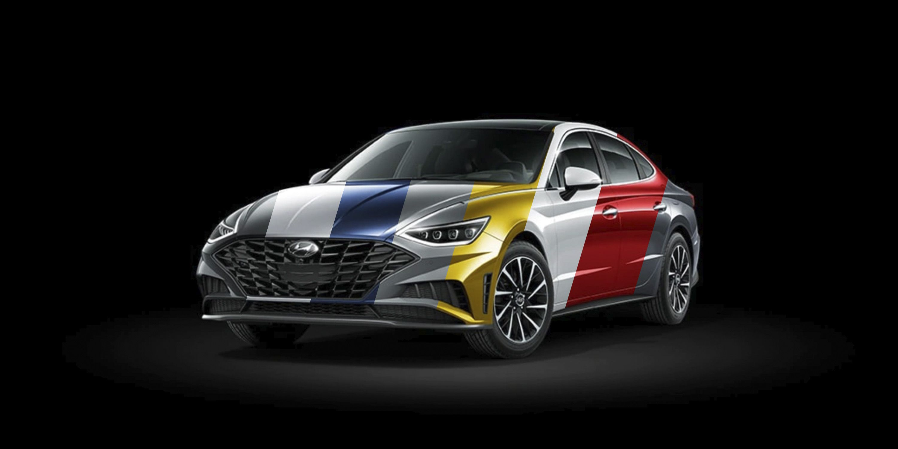 2020 Hyundai Sonata Colors It Comes In Yellow Red Blue And More