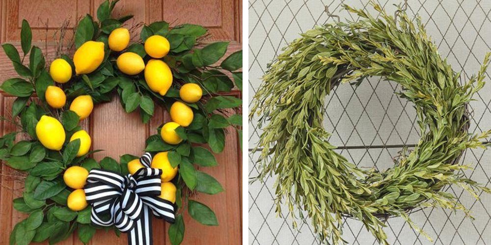 22 Diy Summer Wreaths Outdoor Door Wreath Ideas For Summer