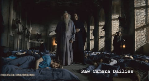 Watch Snape And Dumbledore Pull The Most Hilarious Prank
