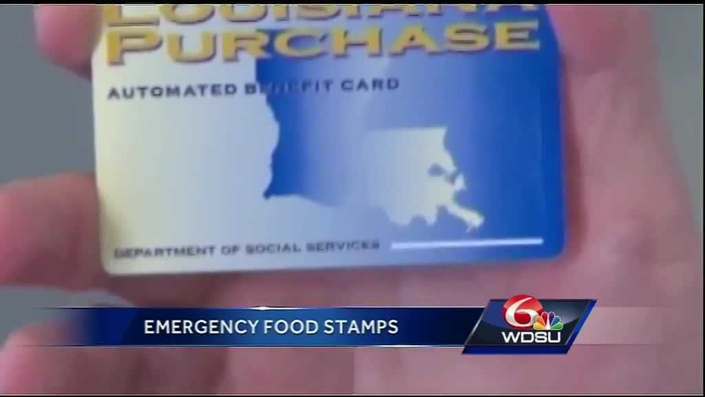 Get Emergency Food Stamps