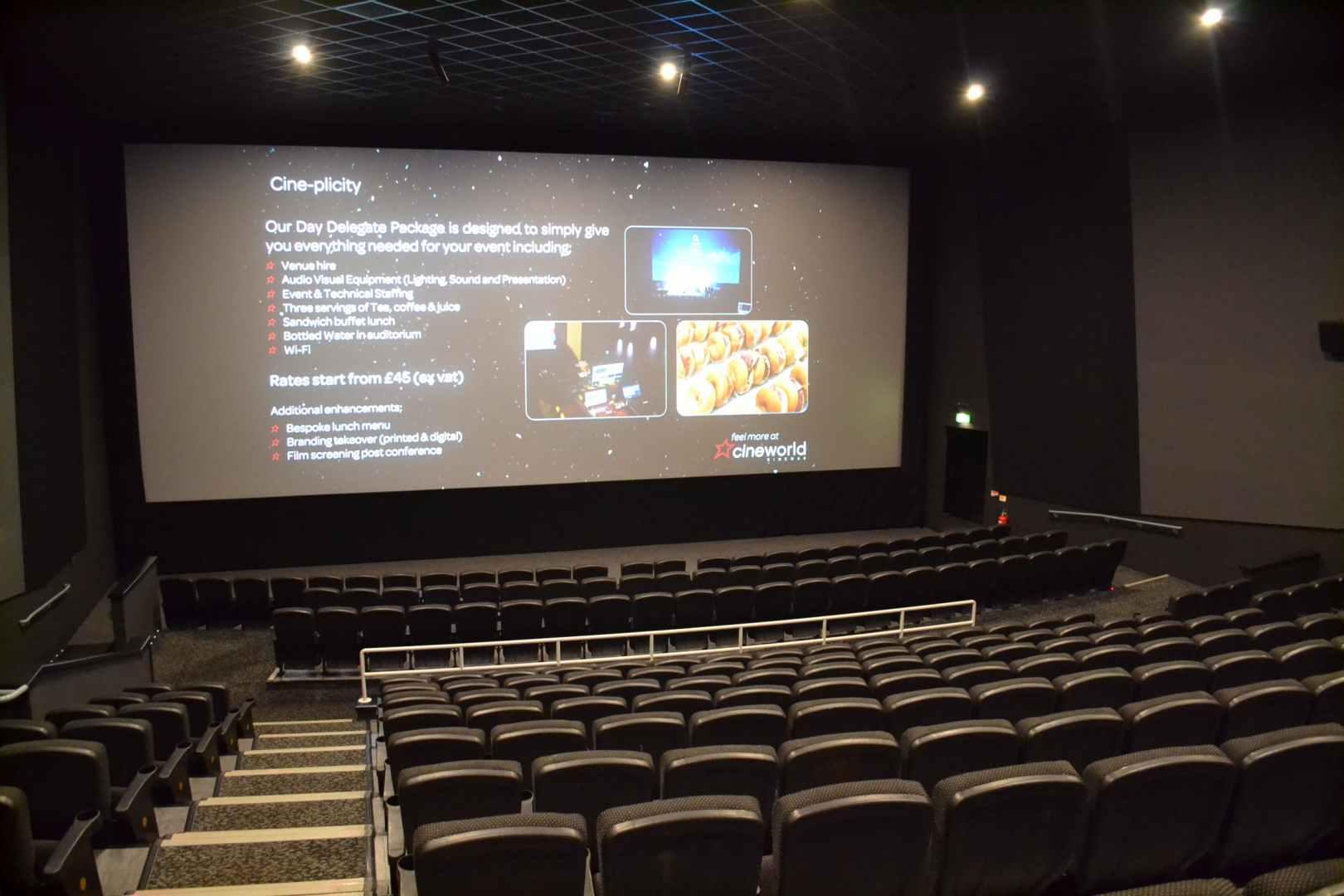 Screen 9 Screenings Cineworld Wembley