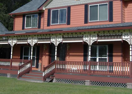 New Queen Anne Victorian Historic House Colors