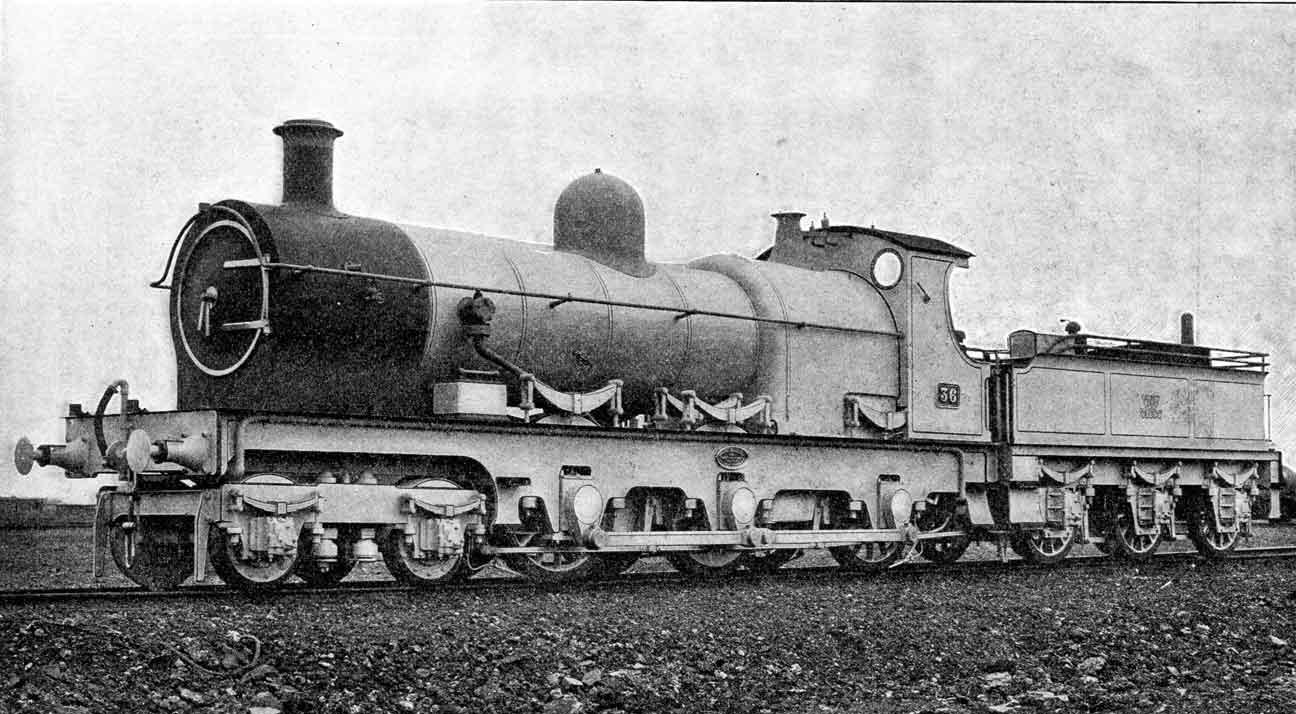 Great Western Railway Ten Wheel Freight Engine