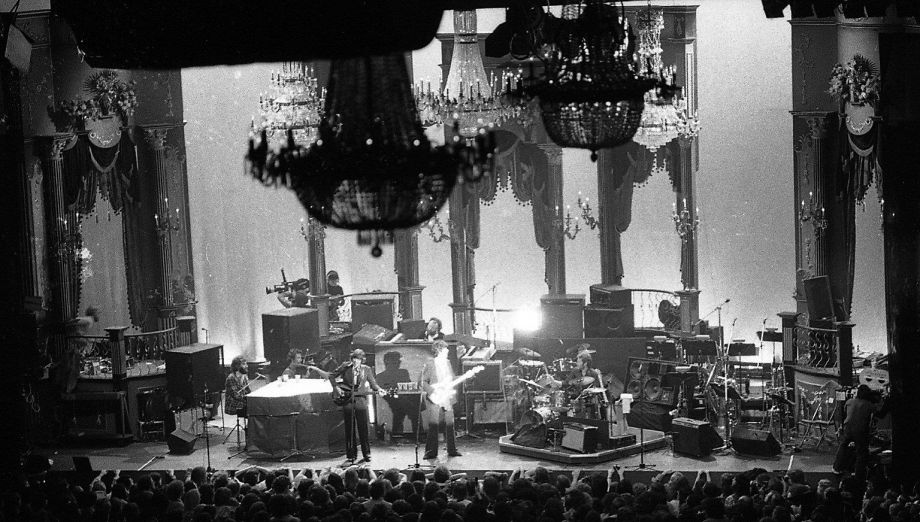 Iconic Rock Doc The Lost Photos Of The Last Waltz 1976