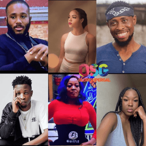 #BBNaija: Kiddwaya, Nengi, Laycon, Lucy, Vee & Trikytee up for possible eviction (See how they nominated)