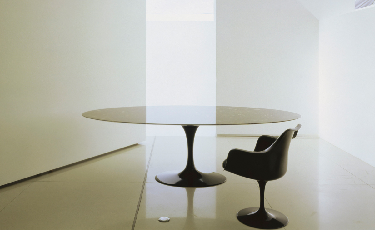 Saarinen Dining Table Calacatta Marble Hivemodern Com