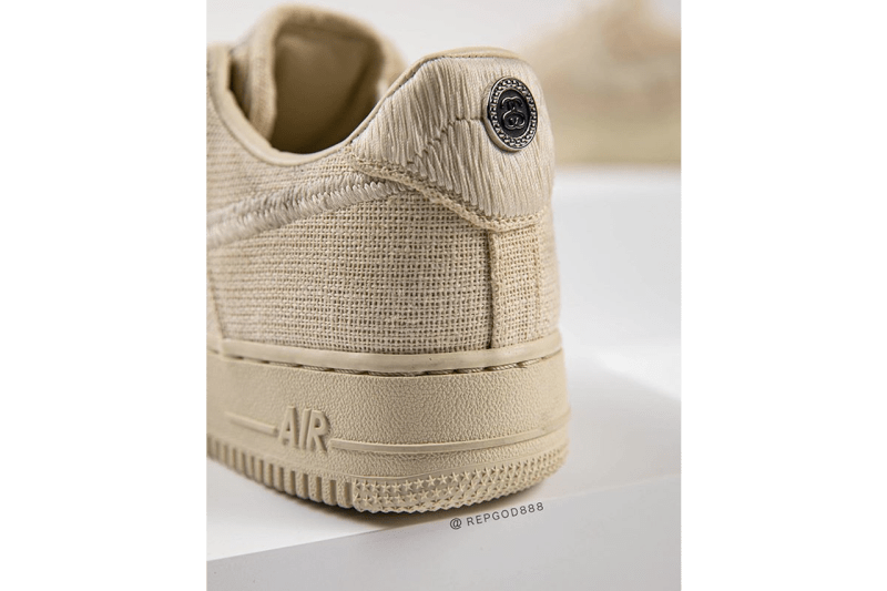率先上腳 Stüssy x Nike Air Force 1 全新聯名配色「Fossil Stone」