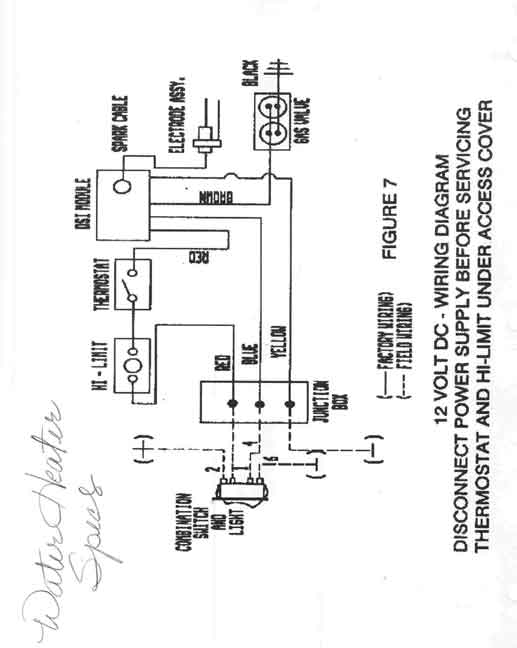 Home Water Heater Electrical Wiring Diagrams