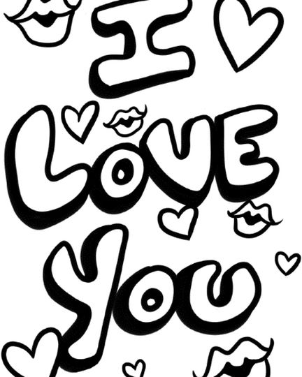 I love you coloring pages teenagers printable part 1, coloring pages love you
