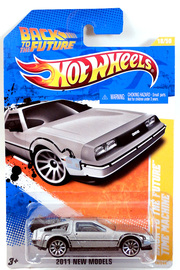Back To The Future Time Machine Model Cars Hobbydb
