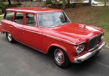 1961 Studebaker Lark 4 Door Station Wagon   Cars   hobbyDB 1961 Studebaker Lark 4 Door Station Wagon   Cars