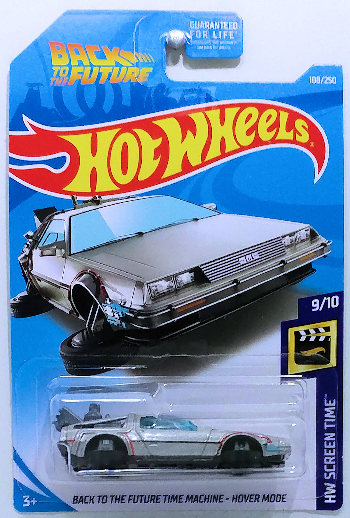Back To The Future Time Machine Hover Mode Model Cars