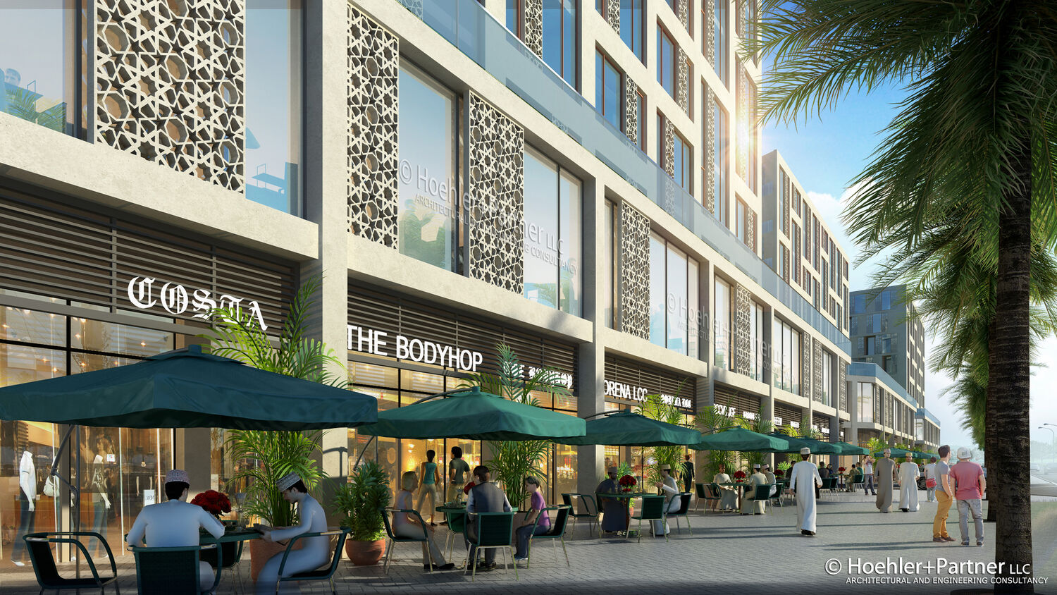 Mixed Use Complex Al Ghoubra Hoehler Alsalmy