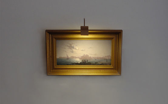 Canvas Painting Led Light