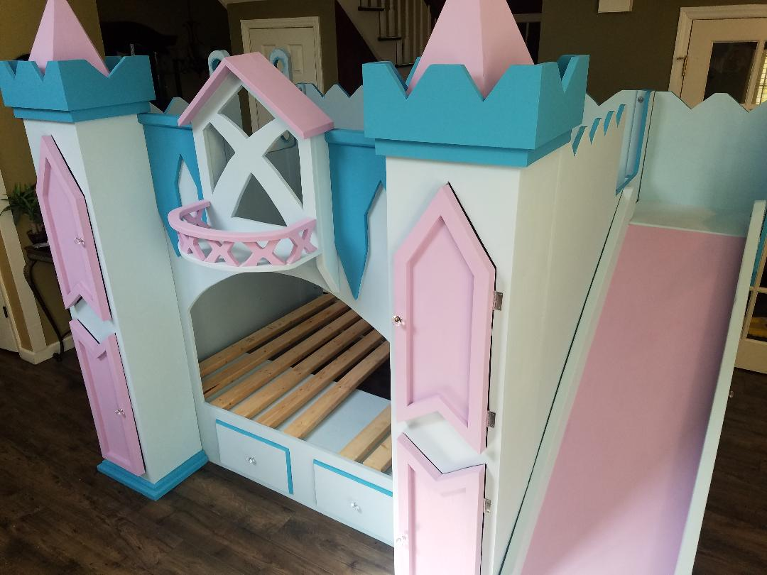 Frozen Ice Castle Loft Bed Bunkbed Holiday S Custom Kids