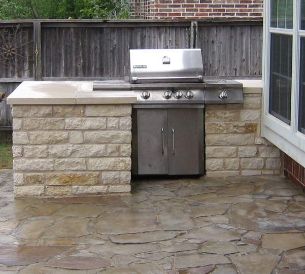 Outdoor Kitchen Grills   l shaped kitchen designs outdoor kitchen grills on Stand Alone Grill Built Into Counter Area Natural  Gas Home And