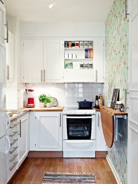 50 Best Small Kitchen Ideas and Designs for 2018 Soft  Feminine and Sunny
