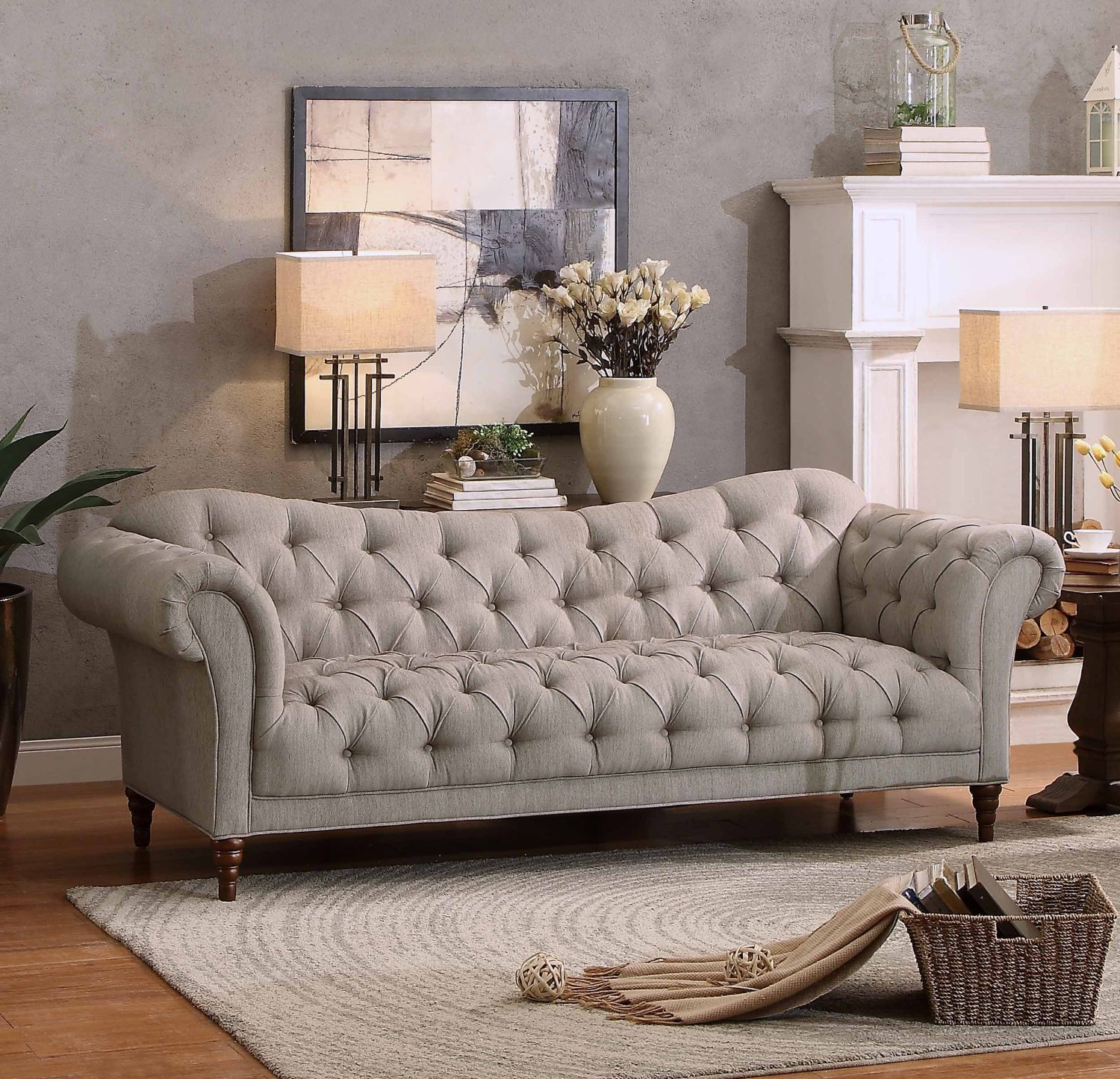 25 Best Chesterfield Sofas to Buy in 2018 Homelegance Chesterfield Style Love Seat