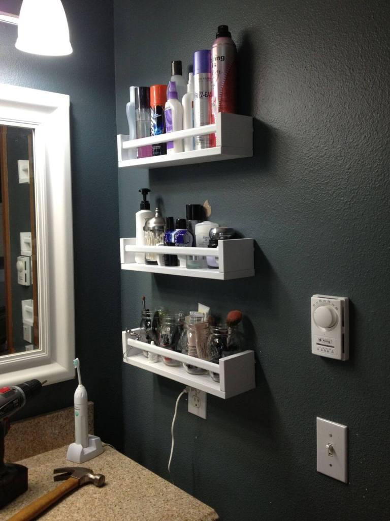 Creative Small Bathroom Storage Ideas and Tips