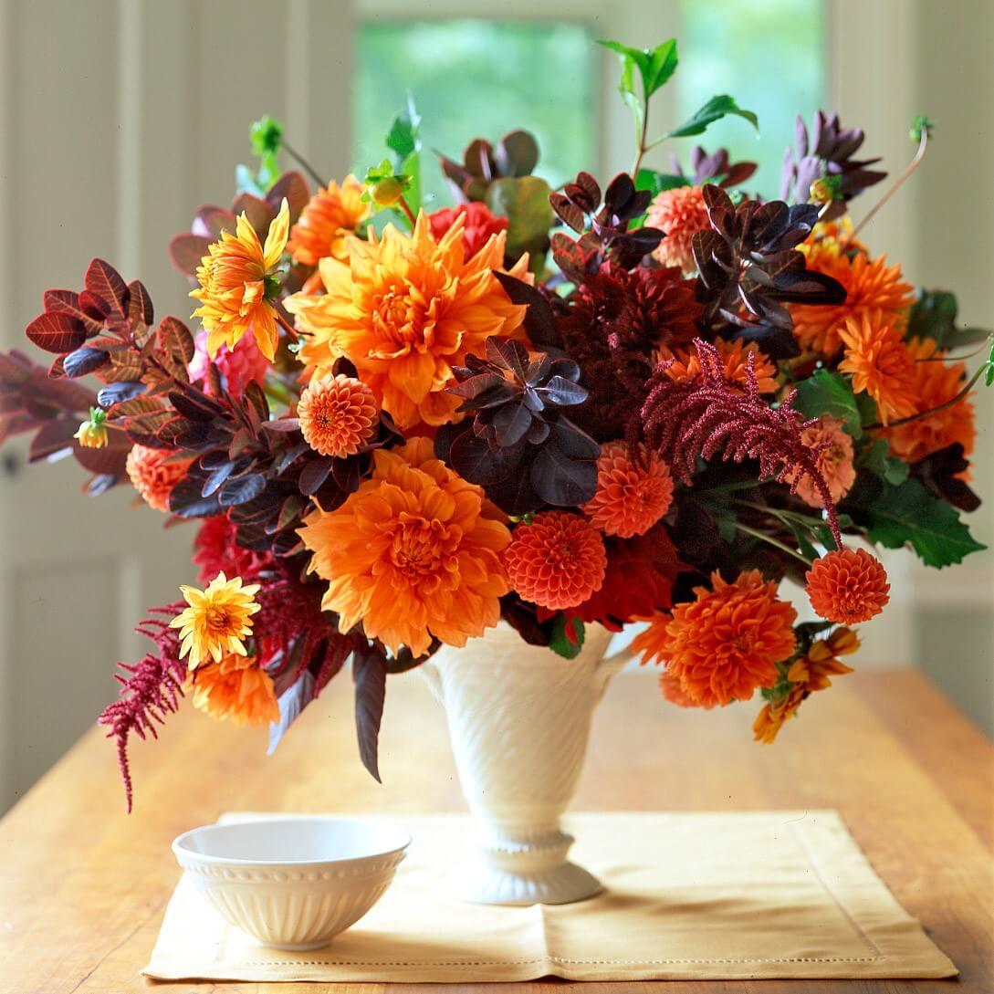 Autumn Wedding Table Ideas