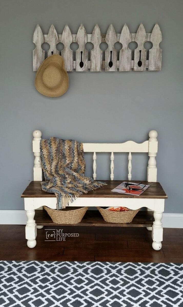 24 Best Old Headboard Upcycling Ideas And Designs For 2019