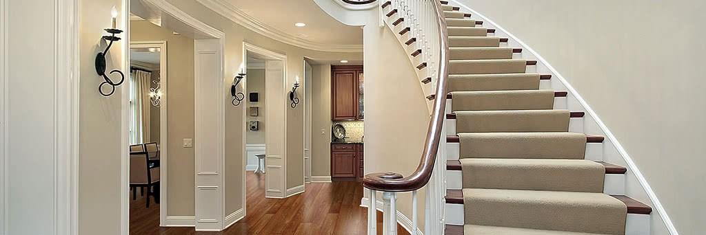 Stair Runner Installation | Custom Stair Runners Near Me | Staircase Remodel | Animal Print | Rugs | Basement Stairs | Stair Treads