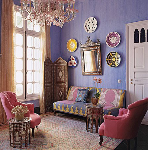 Affordable Interior Design by Applying Bohemian Style   Home     Bohemian livingroom design