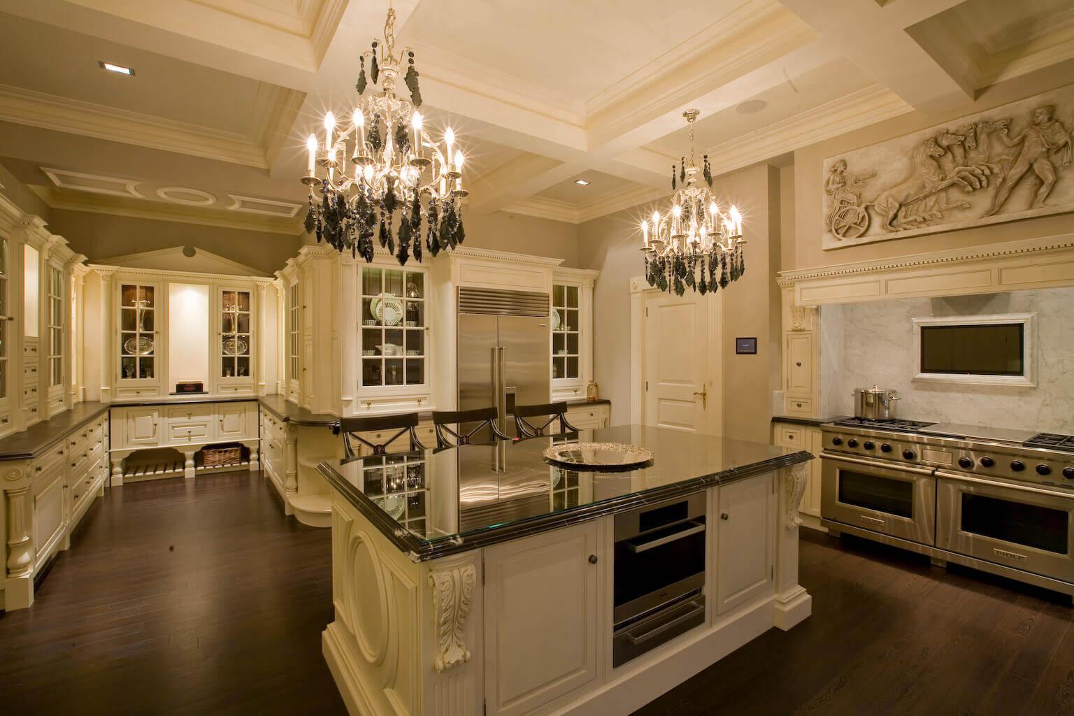 Best Kitchen Gallery: Top 65 Luxury Kitchen Design Ideas Exclusive Gallery of Luxury Kitchen Ideas on rachelxblog.com