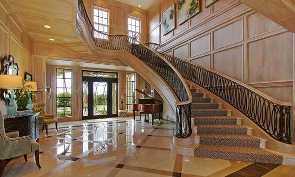 15 Concrete Interior Staircase Designs Home Design Lover   Home Interior Stairs Design   Stylish   Upstairs   Luxury   Classic   L Shaped
