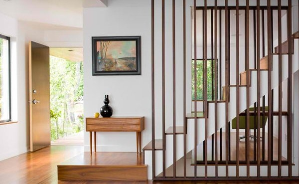 20 Attractive Wooden Staircase Design Home Design Lover | Wooden Staircase Designs For Homes | Beautiful | Royal Wooden Stair | Residential | Interior | Iron