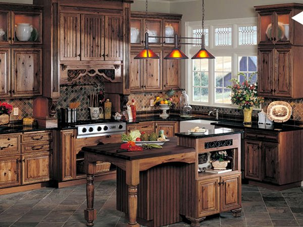 15 Interesting Rustic Kitchen Designs Home Design Lover