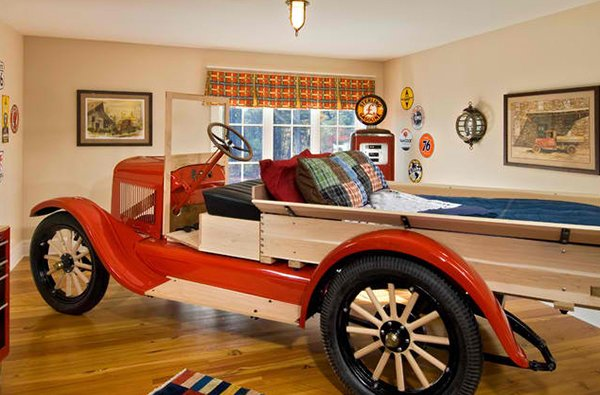 Zoom with Style in 20 Car Themed Bedroom for Your Boys ...