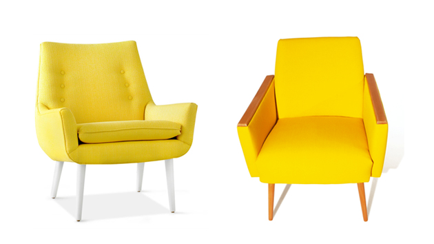 Yellow Living Room Chairs