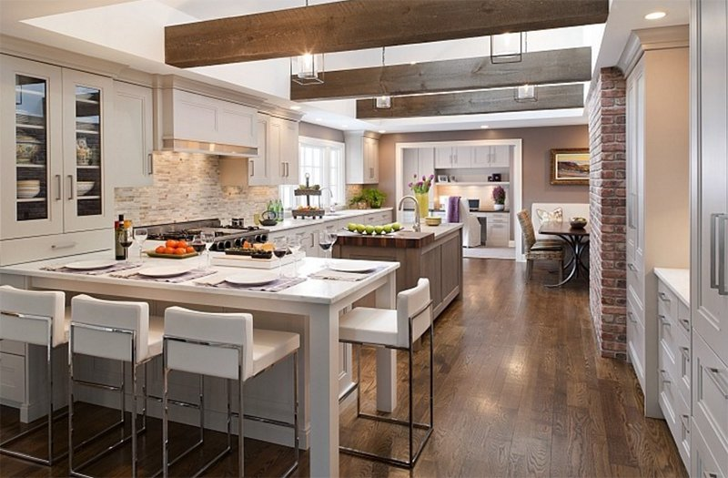 What Does Contemporary Kitchen Look