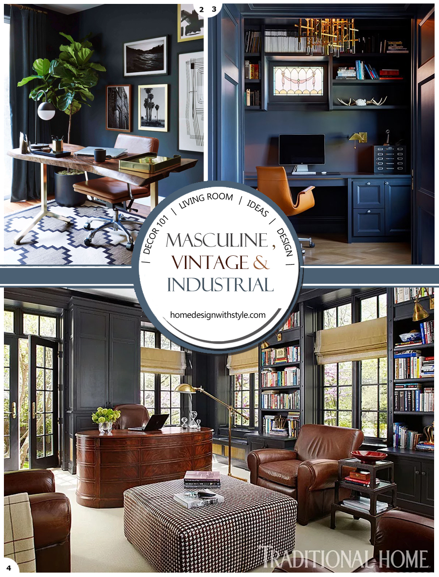 Indian decor blogs   Design Your Home With Style Vintage Industrial Living Room Decor header