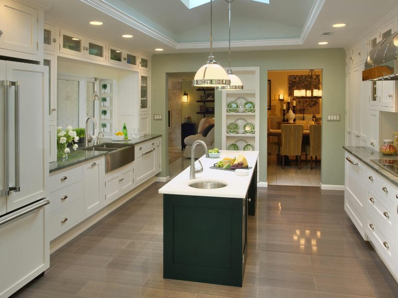 Kitchen Galley Design Layout
