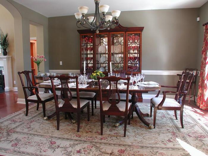 Formal Dining Decorating Ideas