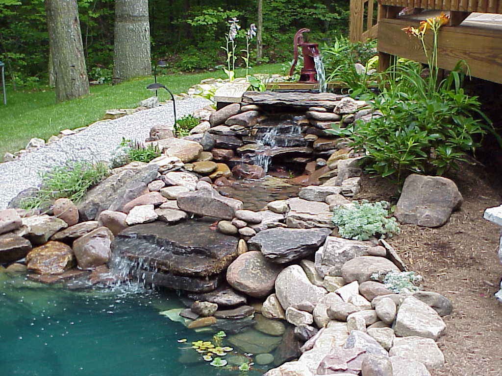 Above Ground Koi Pond Ideas