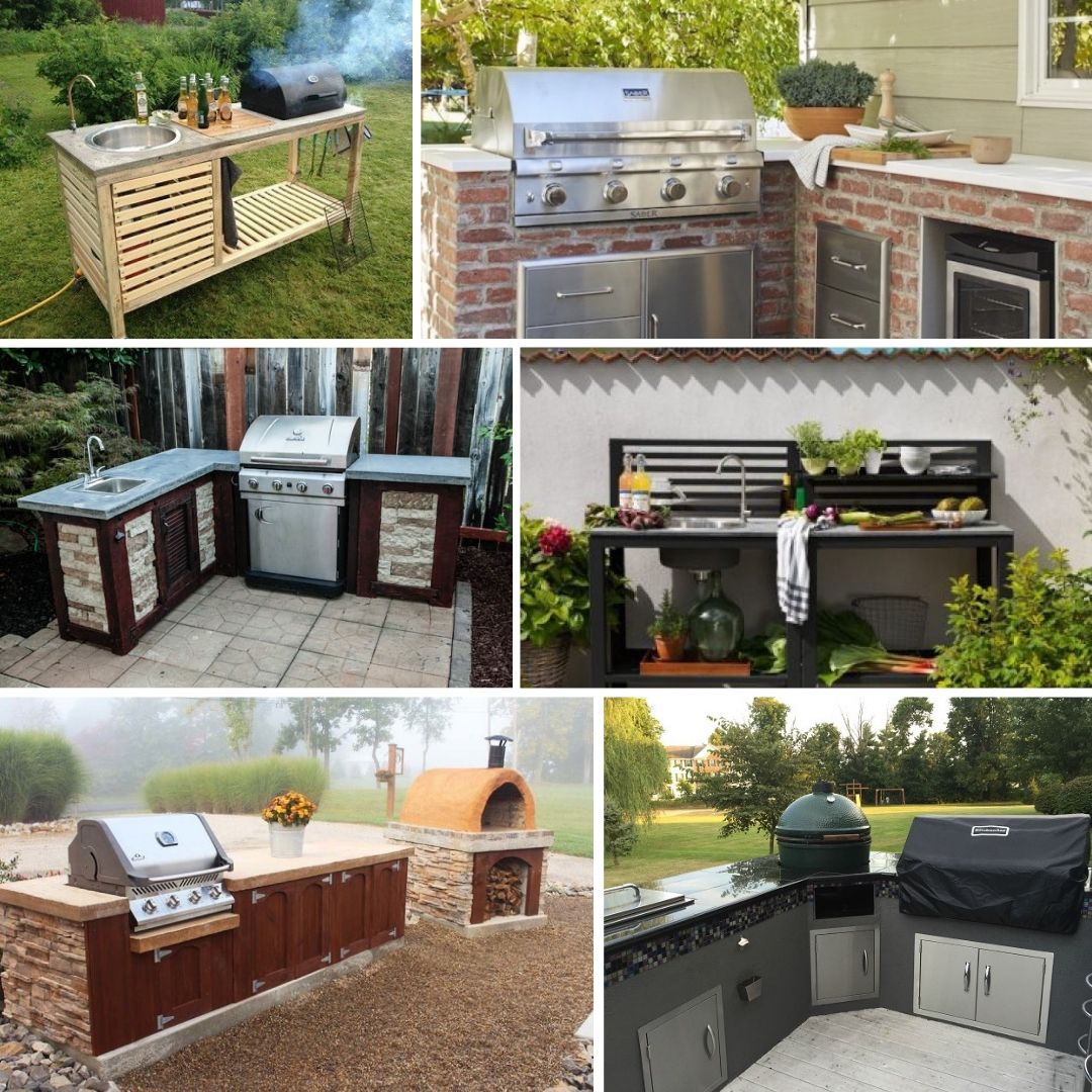 13 Diy Outdoor Kitchen Ideas You Can Build Right Now