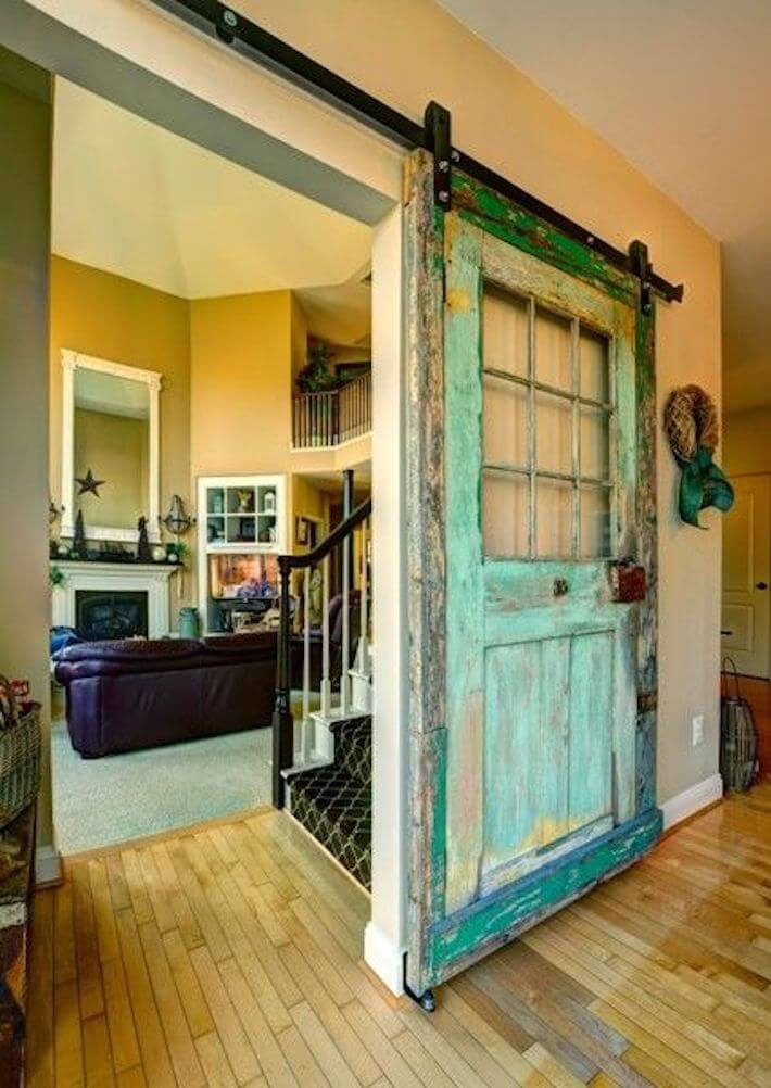 Reused Doors That Are Heavenly Knock Outs Homejelly