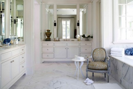 How to Design a Bathroom in French Style from A to Z   Home Interior     1 French style bathroom interior design ideas light